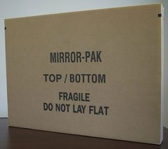 Mirror moving box