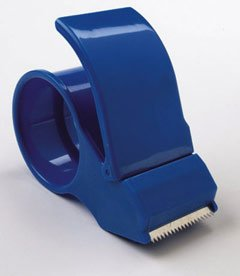 Plastic tape dispenser